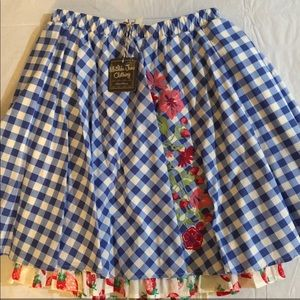 Matilda Jane Dutch Apple Skirt NWT